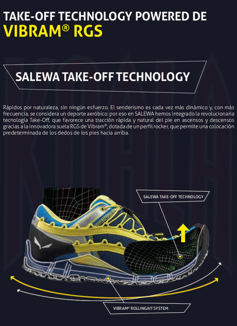 SALEWA_Tecnología_Take-Off_LASTS_Deportes KOALA Madrid