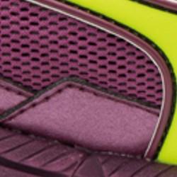 Clover / Safety Yellow / Dark Purple